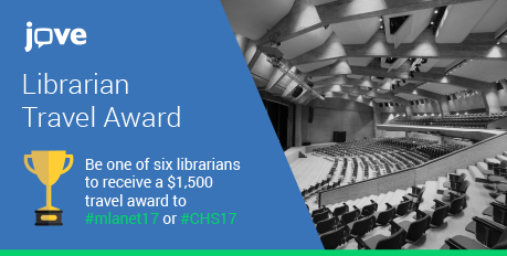 JoVE LIBRARIAN TRAVEL AWARD