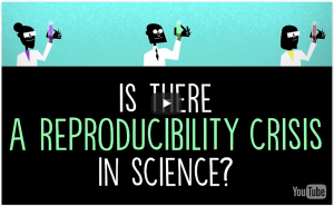 "Matt Anticole's TedEd video ""Is There a Reproducibility Crisis in Science?"""