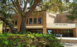 The library at the University of West Florida