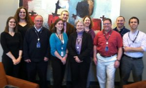 Photo of the Librarian Reference team at UMUC