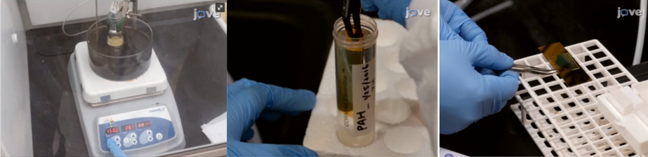 experiment steps from engineering video article from authors at Duke University