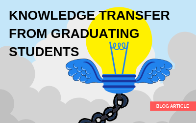 Knowledge Transfer from Graduating Students